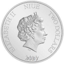 WINNIE THE POOH COMPLETE SET 2020 & 2021 Niue 4x 1oz silver coin