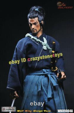 WOLFKING WK89004A Ronin Miyamoto Musashi 1/6 Action Figure Collectible Model