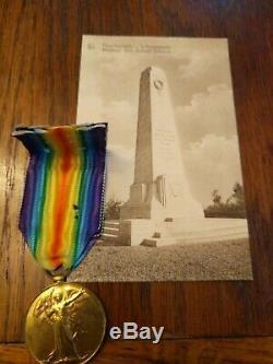 WW1 NZEF. ANZAC Victory Medal. New Zealand Rifle Brigade. Gallipoli. Somme. KIA