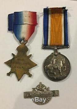 WW1 New Zealand NZEF ANZAC medals to first day Gallipoli lander Scarce