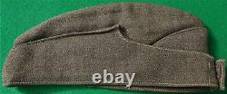 WW2 NEW ZEALAND Army 2nd NZEF Other Ranks SIDE CAP Uniform Hat SUPERB