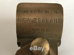 WW2 NEW ZEALAND MADE 1942 SNIPING TELESCOPE TRIPOD 16 High