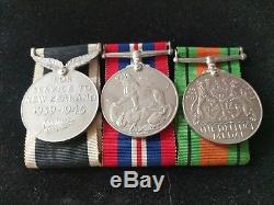 WW2 New Zealand Memorial Cross. 28th Maori Bataillion. N. Africa, Crete, Greece