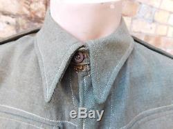 WWII New Zealand Battledress Jacket & Trousers dated 1942