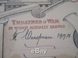 WWI War Services in the New Zealand Expeditionary Forces in W. Europe