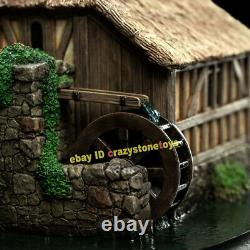 Weta HOBBITON MILL AND BRIDGE Scene Model Display Statue The Lord of the Rings