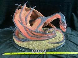 Weta Lotr The Hobbit The Desolation Of Smaug Smaug The Terrible Diorama Statue