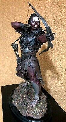 Weta Lurtz At Amon Hen Statue Lotr