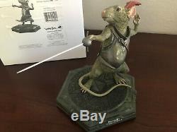 Weta New Zealand Disney NARNIA Prince Caspian REEPICHEEP Statue LE 100 VERY RARE