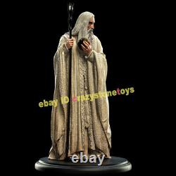 Weta Saruman White Wizards Mini Figurine Model The Lord of the Rings Statue