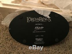 Weta Sideshow LOTR Lord of The Rings Orthanc Post Ruin Statue Resin #402
