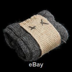 Weta Stansborough Gandalf Gloves 100% Grey Wool From New Zealand LOTR