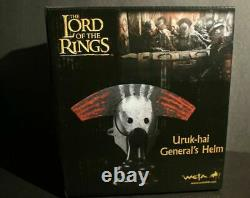 Weta Uruk-hai General's Helm The Lord Of The Rings Helmet Collection Model