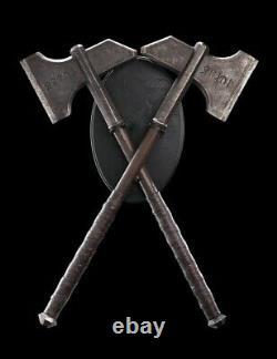 Weta Workshop Dwalin's Axes Life Size Props From The Hobbit Lotr/Hobbit