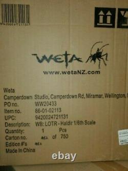 Weta Workshop Haldir Statue Brand New NEVER BEEN OPENED