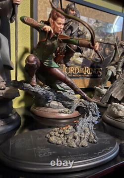 Weta-the Hobbit-desolation Of Smaug Tauriel Statue
