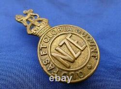 Ww1 Nz Collar Dog Badge Tunnelers Company, New Zealand Engineers (1915 1919)