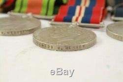 Ww2 New Zealand Medal Group