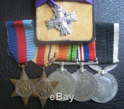 Ww2 New Zealand Memorial Cross Medal Group Kia Battle Of Sidi Rezegh 1941