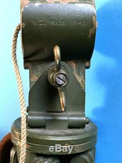 Ww2 Sniping Telescope Tripod New Zealand Made 1943 Fits All Ww1 Tel. Sig. Scopes