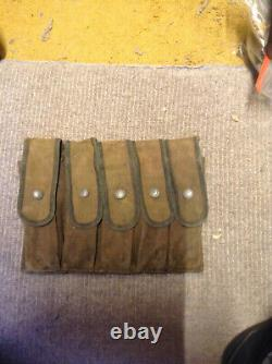 Ww2 Super Rare Usmc New Zealand Made Thompson/rising Ammo Pouch