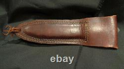 Wwii Ww2 New Zealand Bowie Fighting Knife N. Z. Cutlers Co. Auckland