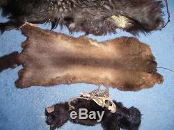 Xena 3 piece set of Furs from Warrior Princess Costume Wardrobe Prop NEW ZEALAND